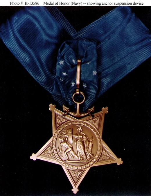 Naval Medal of Honor Like the one that  that was awarded to O'Callahan