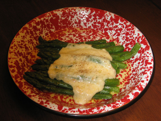 Asparagus is a good source of potassium.