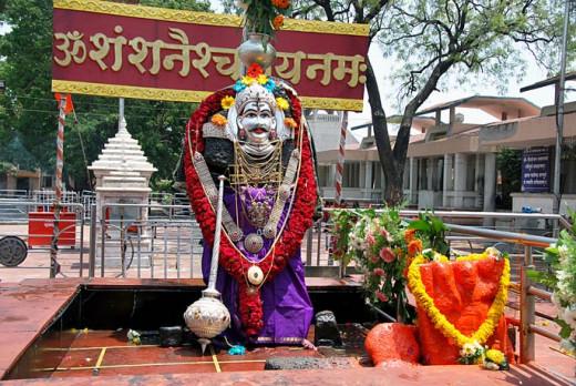 Statue of Shri Shaneshwar