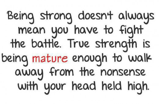 Stay strong because GOD will take care of everything Quotes About Being Strong