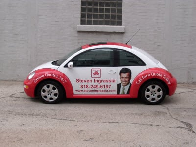 Advertising Wraps are a great way to endorse your product.