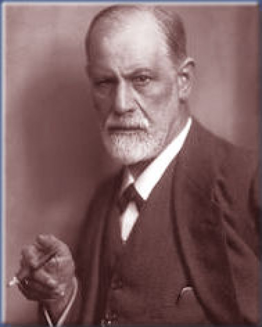A famous photo of Freud, the man behind our understanding of Ego Ideal