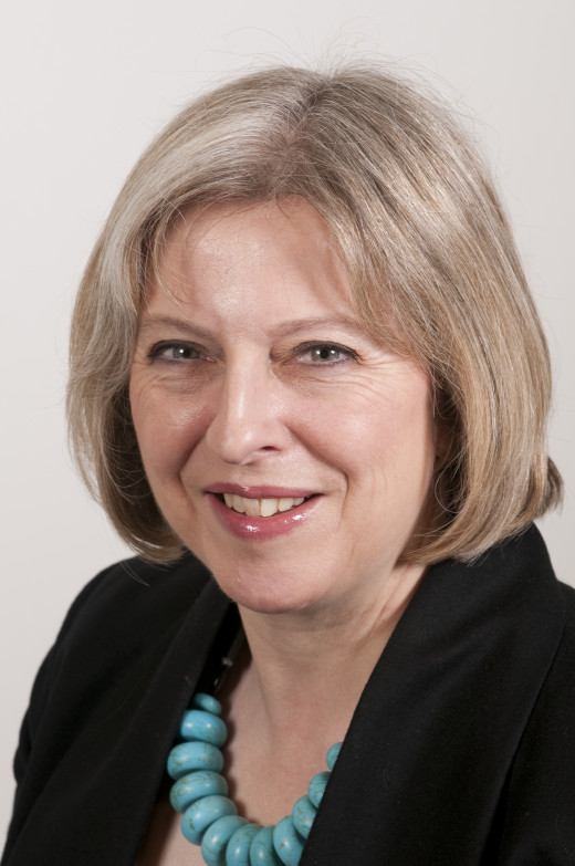 The Right Honourable Theresa May, MP for Maidenhead
