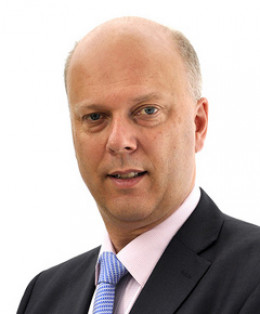 The Right Honourable Chris Grayling, MP for Epson and Ewel and the first Lord Chancellor who wasn't a lawyer since 1558