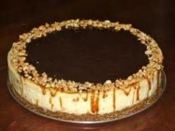 Easy Snickers Cheesecake Recipe