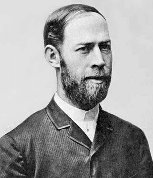 Heinrich Hertz is credited with the early progress in radar research