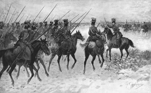 Cossack Cavalry in action