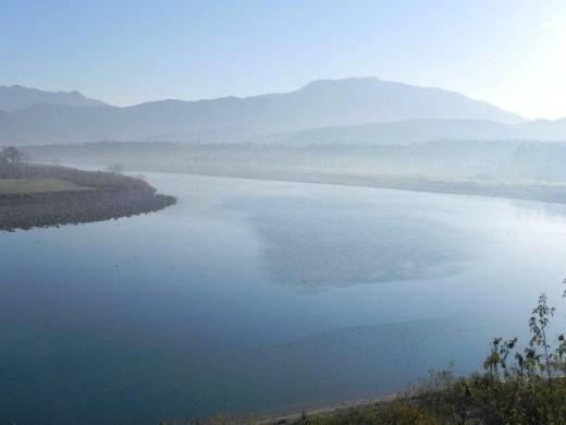 Asan Barrage en route to Kalsi