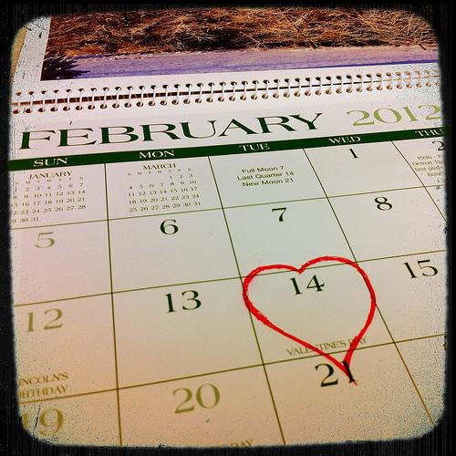 It's February 14th again.