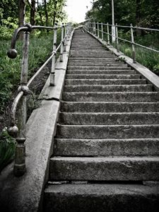 Search engine optimization is like climbing stairs to get good SEO results.