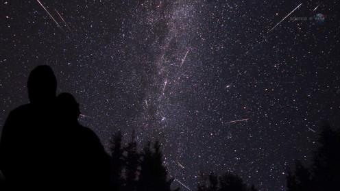 Perseid Meteor Shower in Full Effect