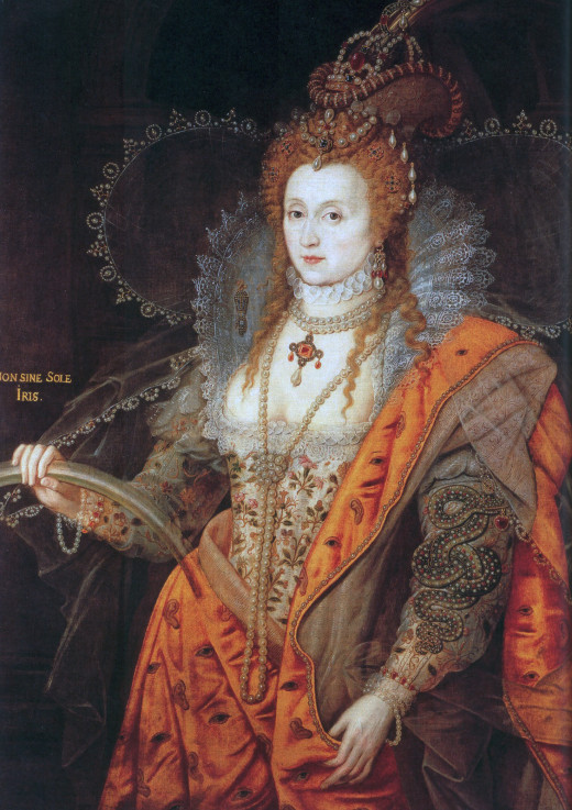 Early 17th century portrait of Elizabeth I