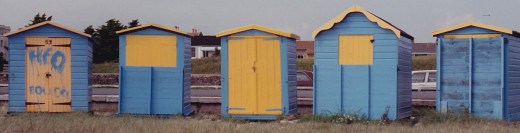 Beach huts at Bognor Regis
