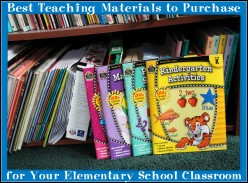 Best Teaching Materials to Purchase for Your Elementary School Classroom