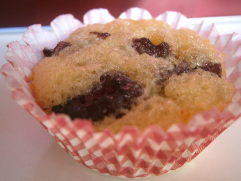 One tiny cupcake up for grabs--petite cupcakes with all the sweetness of dried fruits and the wholesomeness of malt -o-meal.