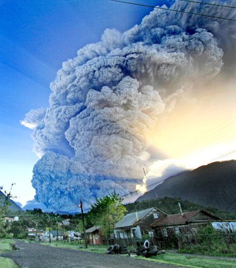 Chaiten Volcano, Chile 2008