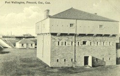 Postcard of Fort Wellington, Prescott, Ontario, Canada, circa 1930