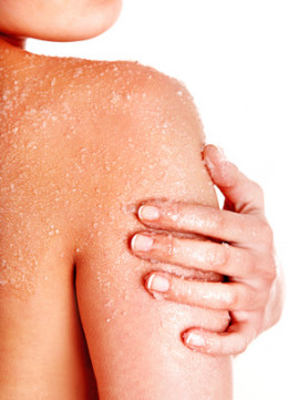 Frequent exfoliation is extremely important to get soft skin.
