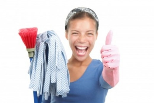 Try our house cleaning checklist for tips and tricks to clean your house in less time!
