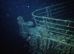 The wreck of the Titanic. (source: corbisimage.com)