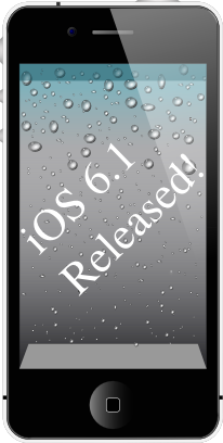 iOS 6.1 was released on Jan 28, 2013. The highlights and change log of the most significant features are discussed in this articles.