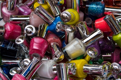 store your nail polishes upright and out of direct sunlight.