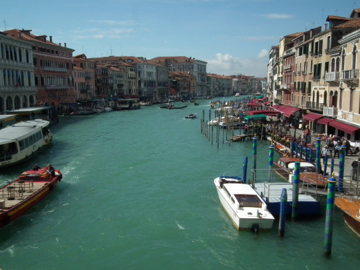Picture from the Rialto Bridge