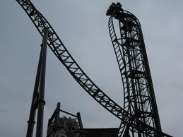 Saw the ride. Just like the movie only this one is a roller coaster ride!