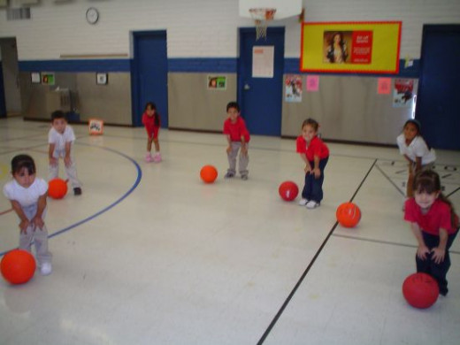 Elementary Classroom Games ~ Health and physical education activities in elementary schools