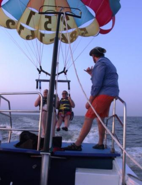 Parasailing - a new experience!