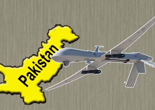 USA drone attack on Pakistan.