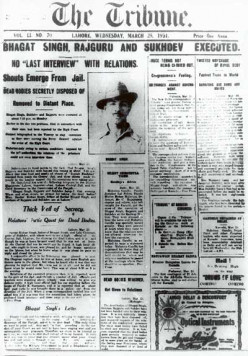 Shaheed Bhagat Singh - The true martyr