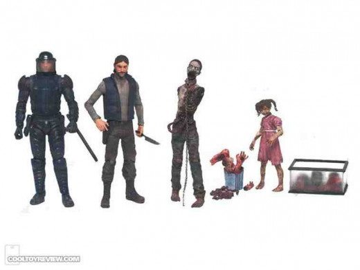 Walking Dead Series 2 Prototypes