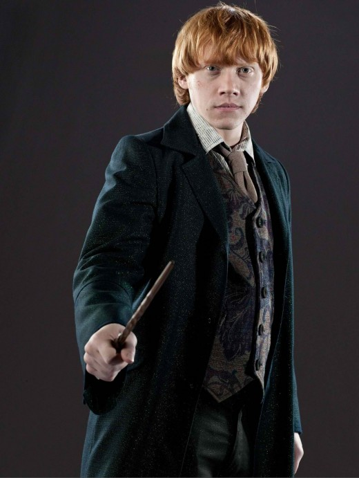 Not even a vanishing spell can make those feelings disappear -Ron Weasley.