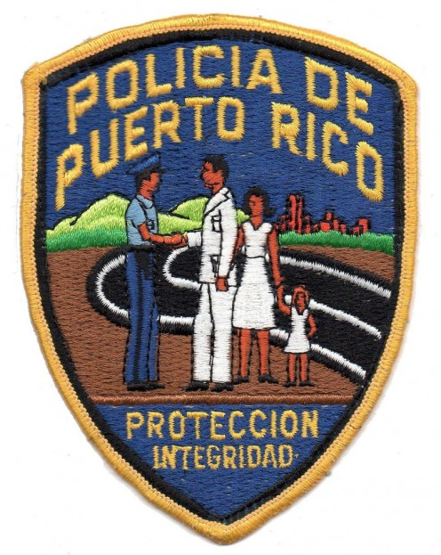 There is a strong police presence in Old San Juan and a special police force - just for the tourists.