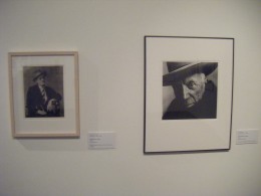Photographs of James joyce and a rather startling image of Picasso. As well as collections of art from Asia and Africa, as well as contemporary art, the museum also houses a great deal of photography.