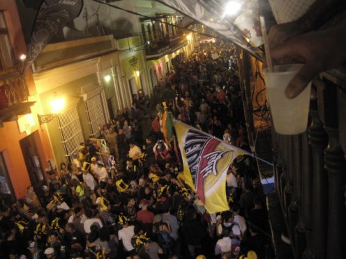 Street Celebration - The San Sebastian Festival in San Juan