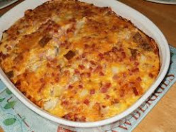 Country Ham and Cheese Casserole Recipe