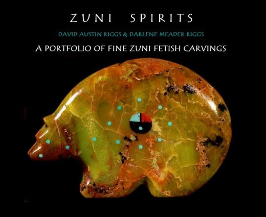 ZUNI SPIRITS:  A Portfolio of Fine Zuni Fetish Carvings