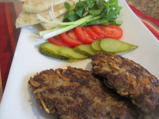 Meat and Potatoe Patties