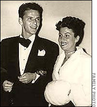 Mr. and Mrs. Frank Sinatra (Nancy Barbato)