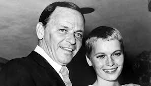 Mr and Mrs Frank Sinatra (Mia Farrow)