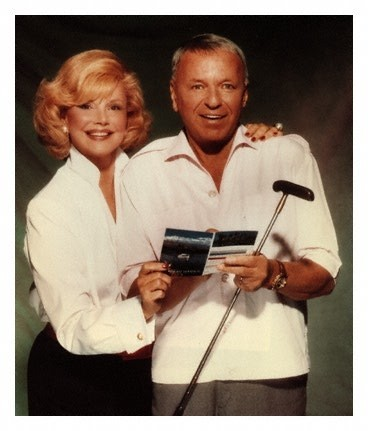 Mr and Mrs Frank Sinatra - Barbara Marx, daughter of Zeppo Marx of the famous Marx Brothers