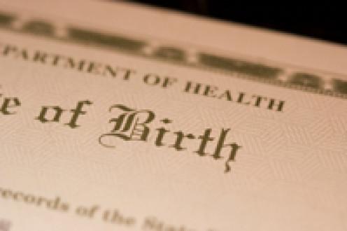 Store your birth certificate in your lockbox.
