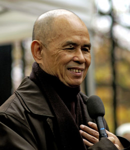 Zen Master Thich Nhat Hanh has taught over a million people how to be happy.