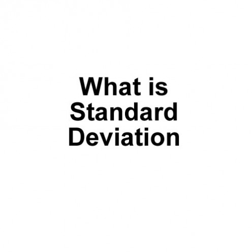 how to tell if standard deviation is spread out