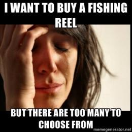 Buying a fishing reel