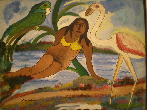 """The Siren"" - 1946 - Hector Hyppolite"