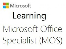 mos microsoft office specialist certification