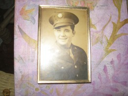 Dad during World War II. I think his ghost is visiting me and my family!